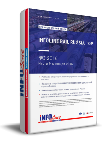 """INFOLine Rail Russia TOP: №3 2016 год"""